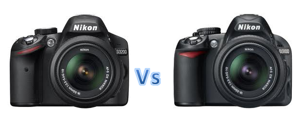 Nikon D3200 VS Nikon D3100 What you choose